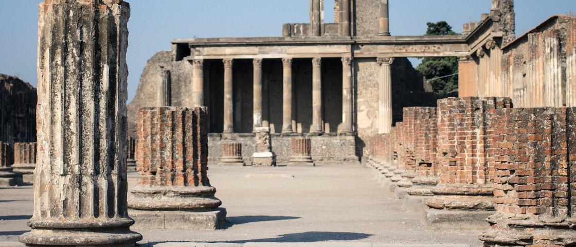 Dê uma olhada em Pompeia antes da destruição pelo Vesúvio