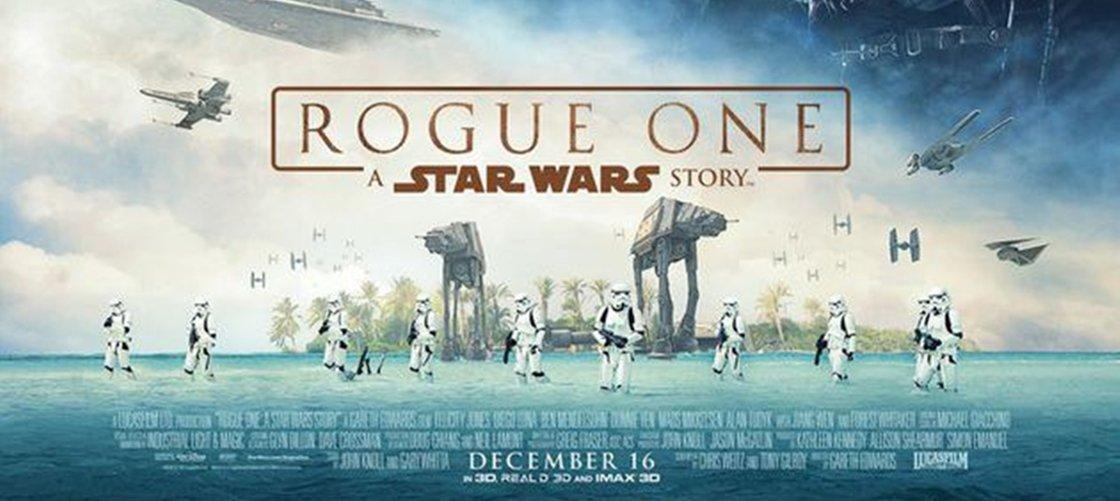 Rogue One: Uma História Star Wars ganha novo trailer legendado e pôster