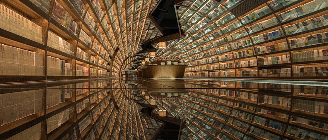 Esta biblioteca na China é provavelmente a mais moderna que você já viu