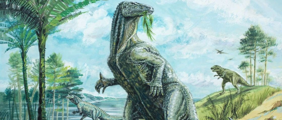 Pesquisadores encontraram o primeiro cérebro fossilizado de um dinossauro
