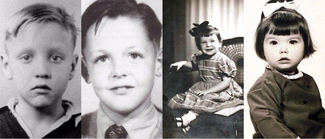 Fotos mostram 20 astros do rock quando eram crianças