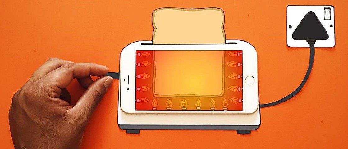 15 montagens incríveis feitas com um iPhone e alguns recortes de papel