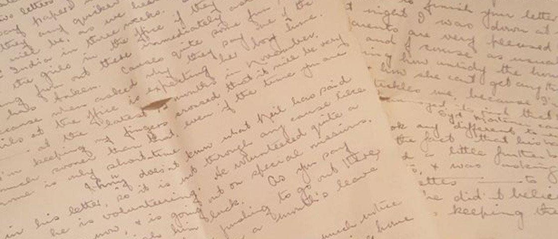 Uma carta de amor escrita há mais de 70 anos finalmente foi entregue