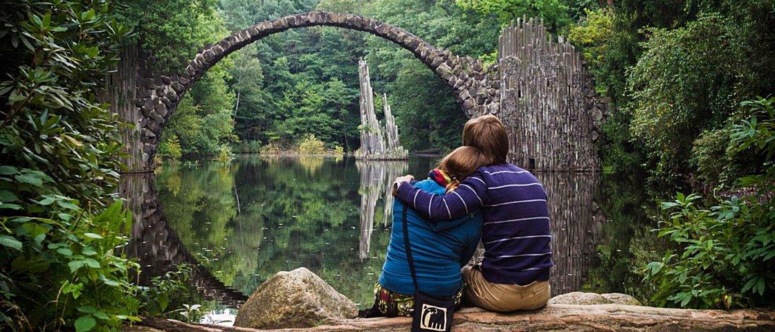 Conheça a ponte alemã que é considerada a mais fotogênica do mundo