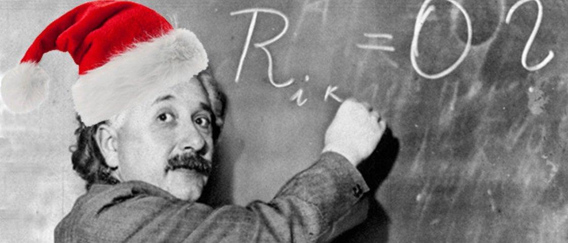Como o Papai Noel faz para descer por todas as chaminés? A Física explica!
