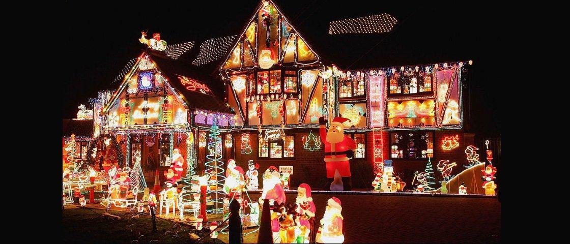 Confira 10 das casas mais natalinas de todos os tempos