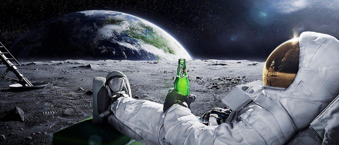 Você sabe por que os astronautas não podem curtir uma cervejinha no espaço?