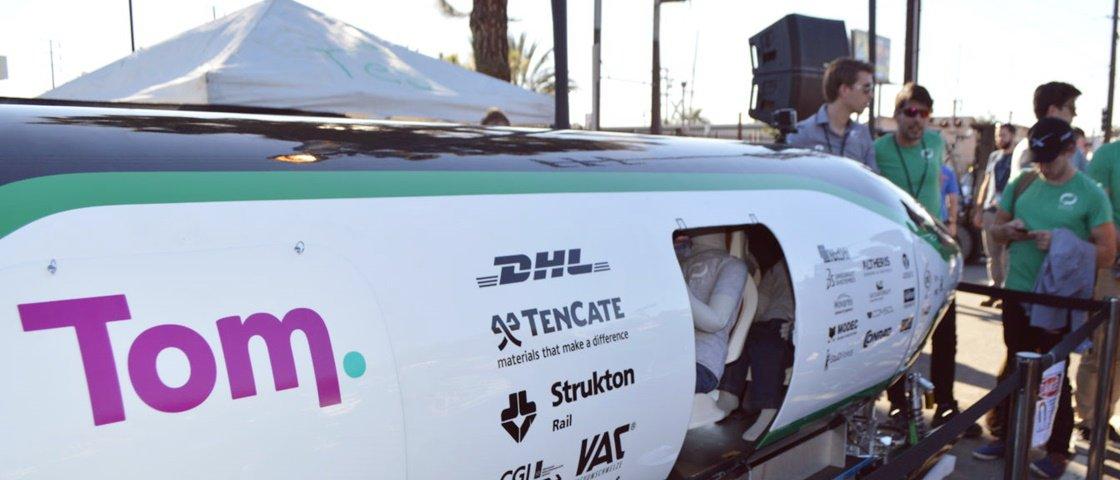 Competição de pods testa o que pode ser veículo do futuro