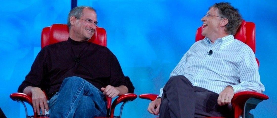 Só para gênios: confira as músicas favoritas de Steve Jobs e Bill Gates