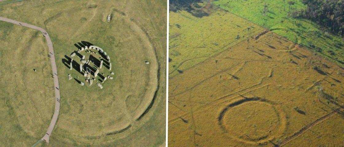 Centenas de círculos semelhantes a Stonehenge foram descobertos no Acre