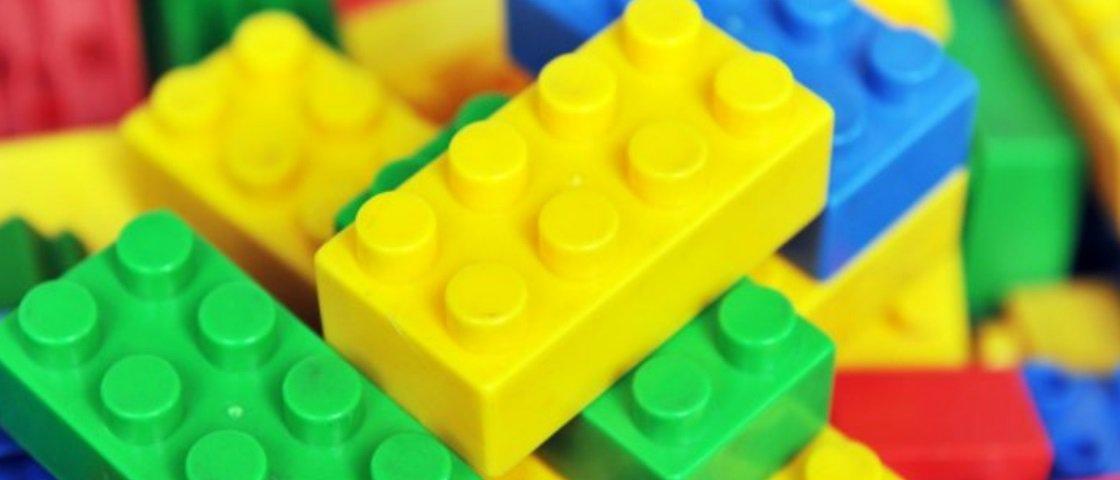 Quantas combinações conseguimos fazer com 6 peças de LEGO?