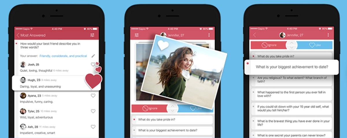 Novo app de encontros junta usuários com base em seu nível intelectual