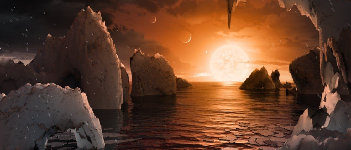 NASA anuncia descoberta de sistema solar com 7 planetas como a Terra