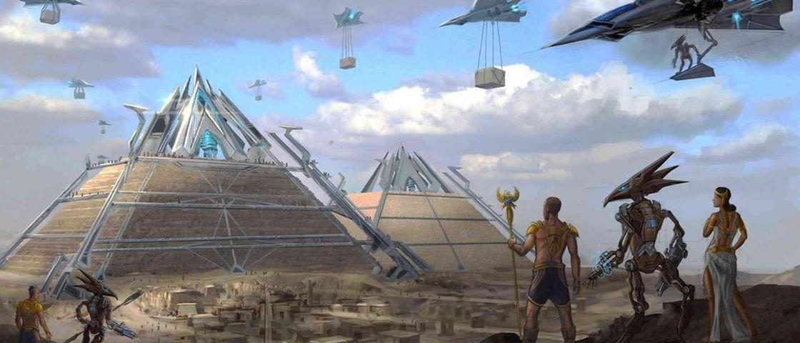 8 teorias absurdas e hilárias a respeito das pirâmides do Egito