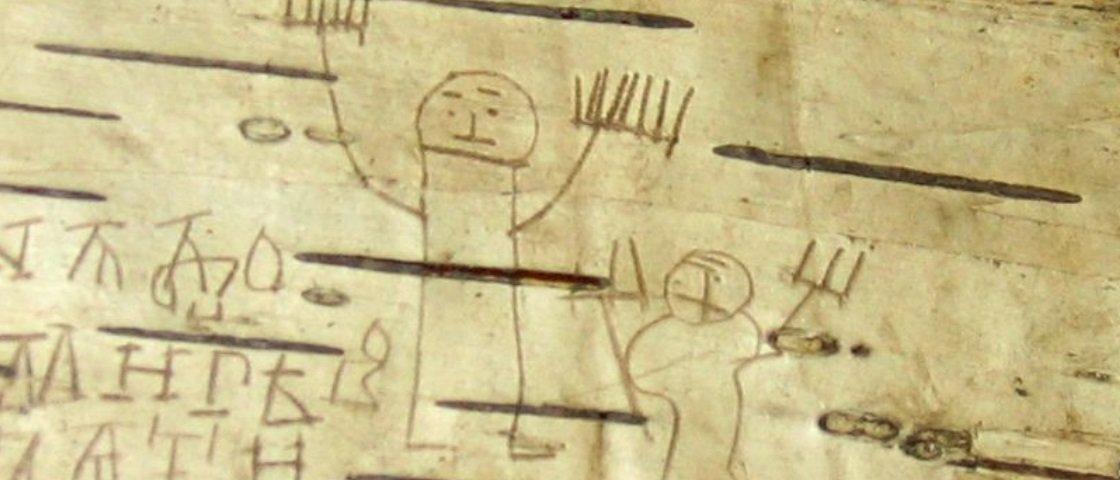 Fascinante: estes desenhos foram criados por um menino russo há 700 anos