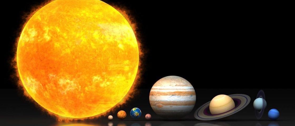 Você Sabe Como O Sistema Solar Se Formou Mega Curioso