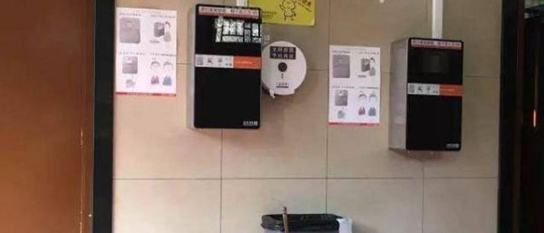 Banheiro público tem scanner facial para combater roubo de papel higiênico
