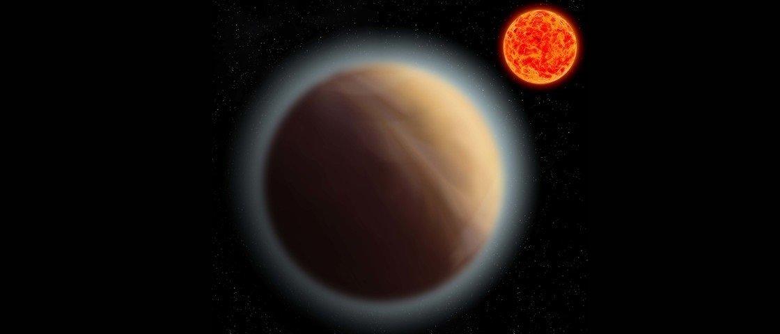 Atmosfera é detectada em exoplaneta semelhante à Terra pela primeira vez