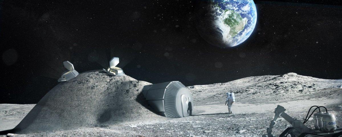 Agências espaciais unem forças com o objetivo de construir uma base na Lua