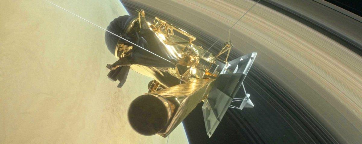 """Descubra o que a Cassini """"ouviu"""" após seu mergulho pelos anéis de Saturno"""