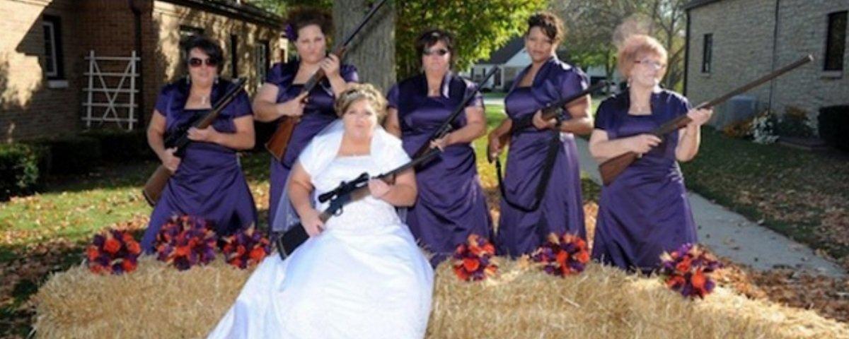 Estas são as 12 piores fotos de casamento de todos os tempos