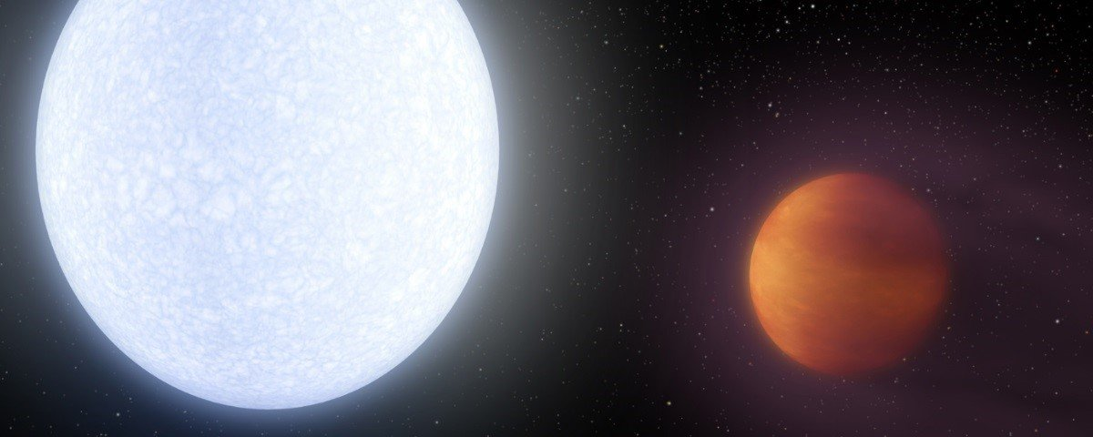 Infernal! Astrônomos detectam o planeta mais quente de que se tem notícia