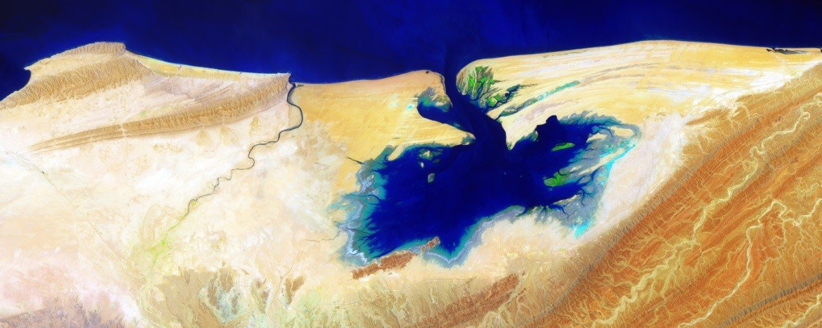 Mais 9 fotos da Terra tiradas do espaço que parecem obras de arte