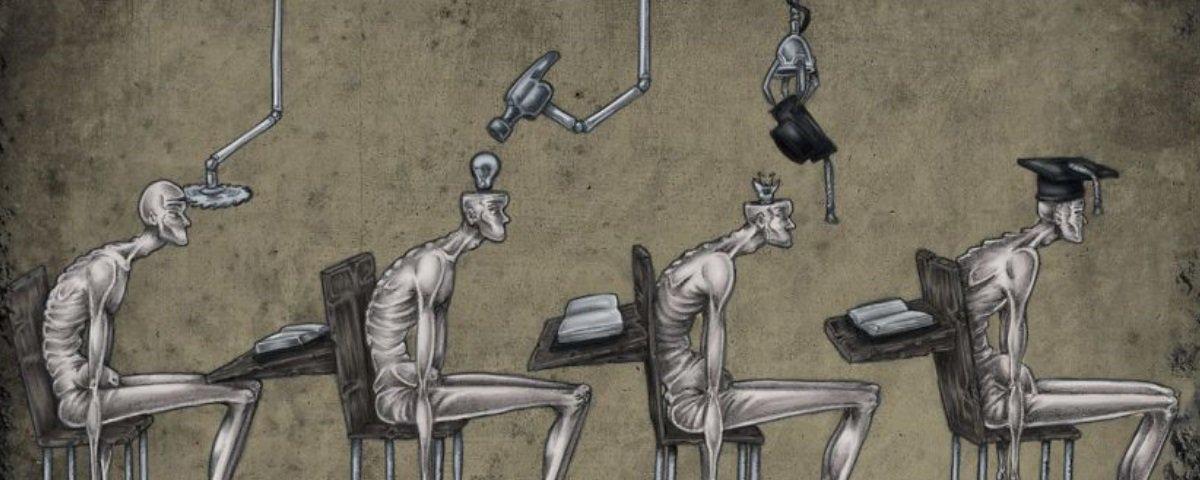 25 ilustrações que nos convidam a pensar sobre os problemas da vida moderna