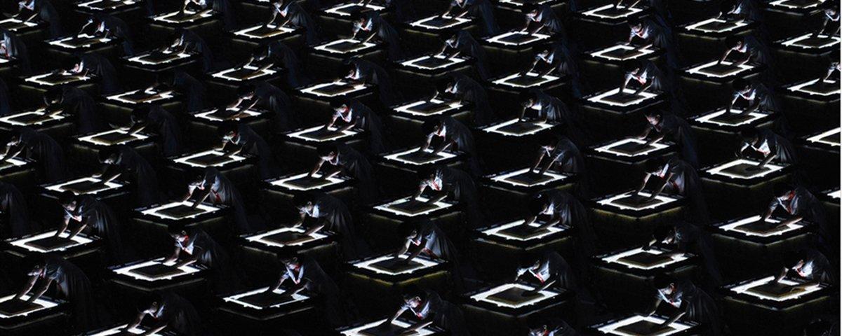 11 imagens da China que vão perturbar quem tem fobia de multidões