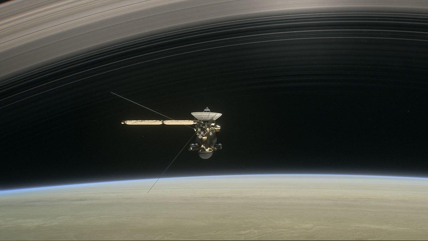 Sonda Cassini se prepara para suas cinco últimas voltas em Saturno