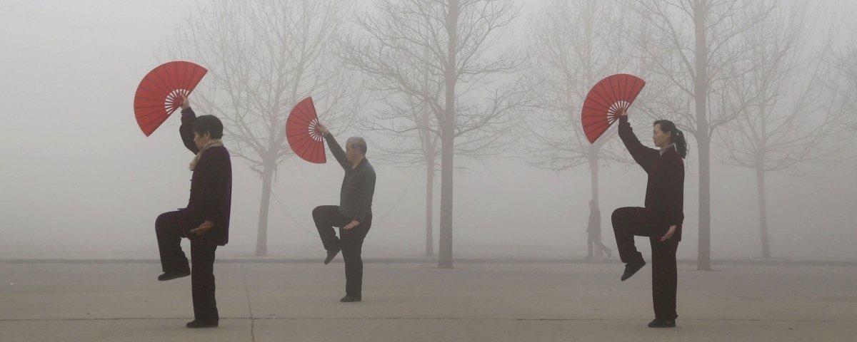 Estas 13 imagens revelam a que ponto chegou a poluição na China