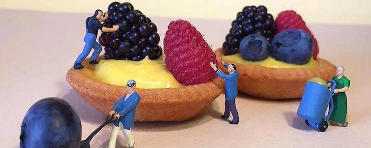 Comer com os olhos: quando sobremesas comuns são transformadas em arte