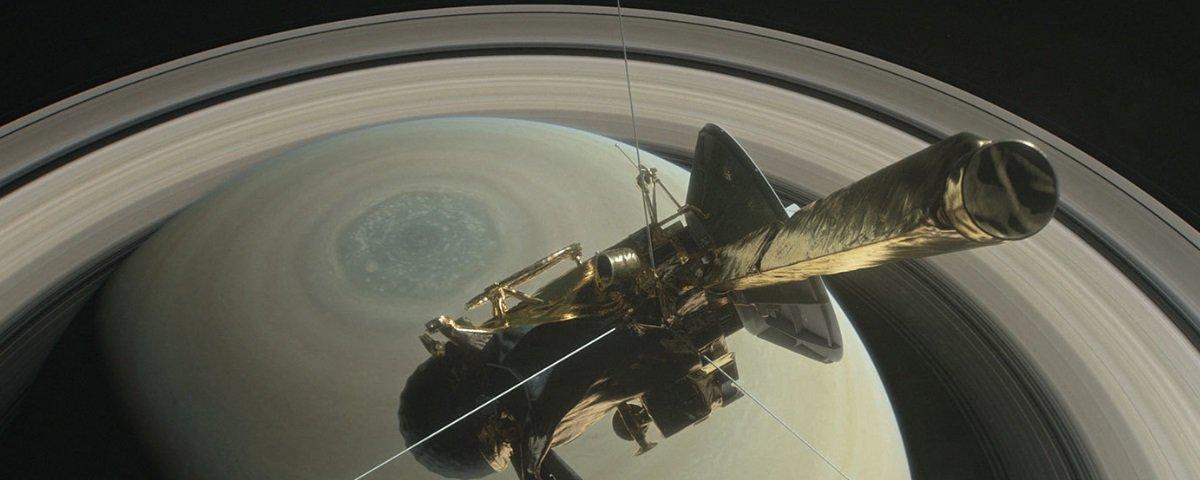 "Despedida: sonda espacial Cassini vai ""morrer"" na próxima sexta-feira"