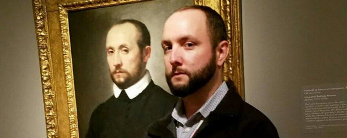 Impressionante: 16 pessoas que se depararam com suas sósias em museus
