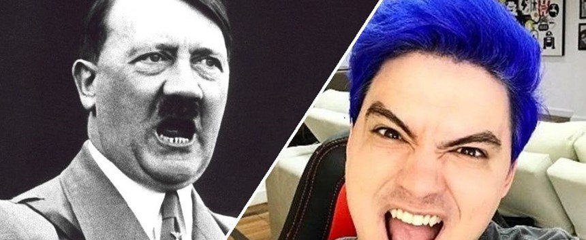 6 graus de separação: de Adolf Hitler a Felipe Neto