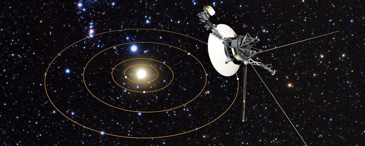 """Cientistas convertem dados da Voyager 1 em uma incrível """"música espacial"""""""