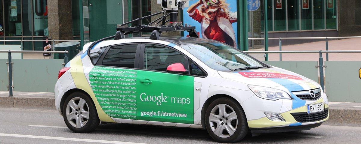 O mundo bizarro de algumas imagens 360° do Google Maps