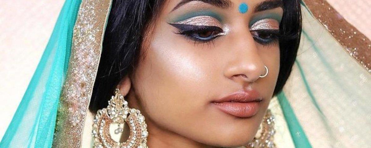 Modelo indiana recria princesas da Disney de maneira fascinante