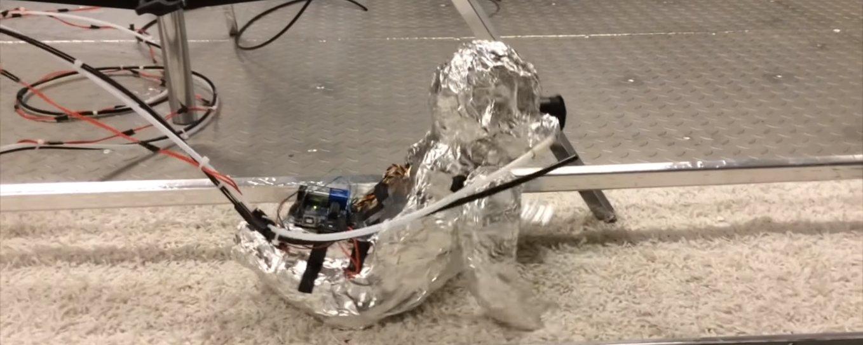 Este robô engatinhador bebê vai assombrar os seus pesadelos