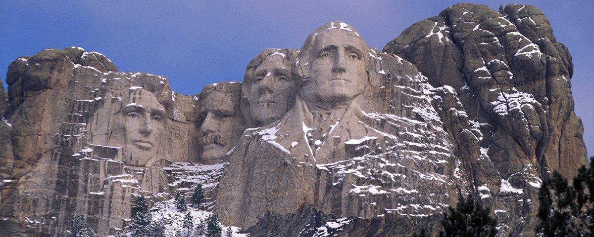 """O que há na sala """"secreta"""" atrás do Monte Rushmore?"""