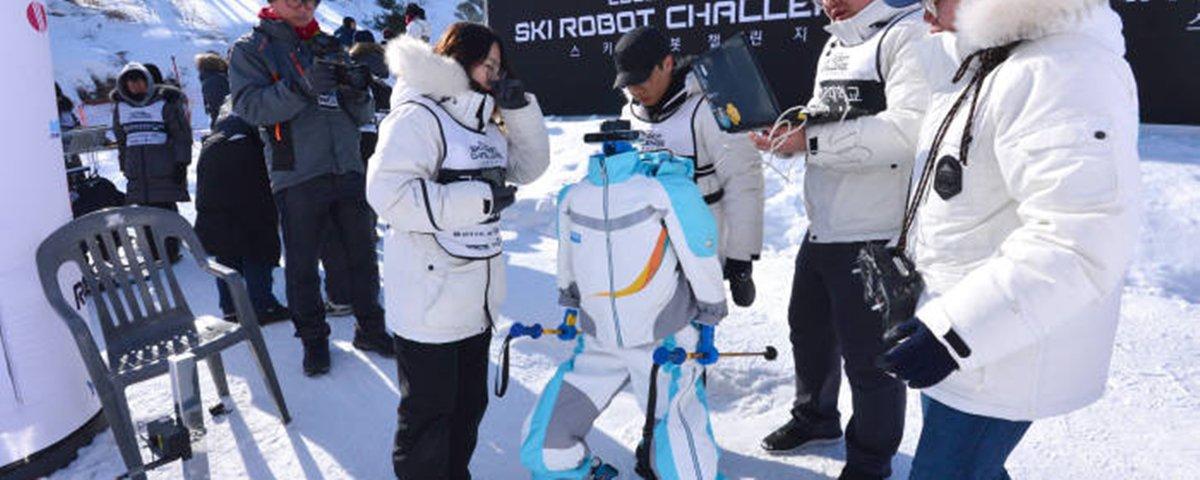 Até robôs quiseram participar das Olimpíadas de Inverno de 2018
