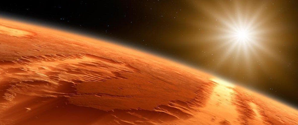 Quer ver como seria um alvorecer em Marte?