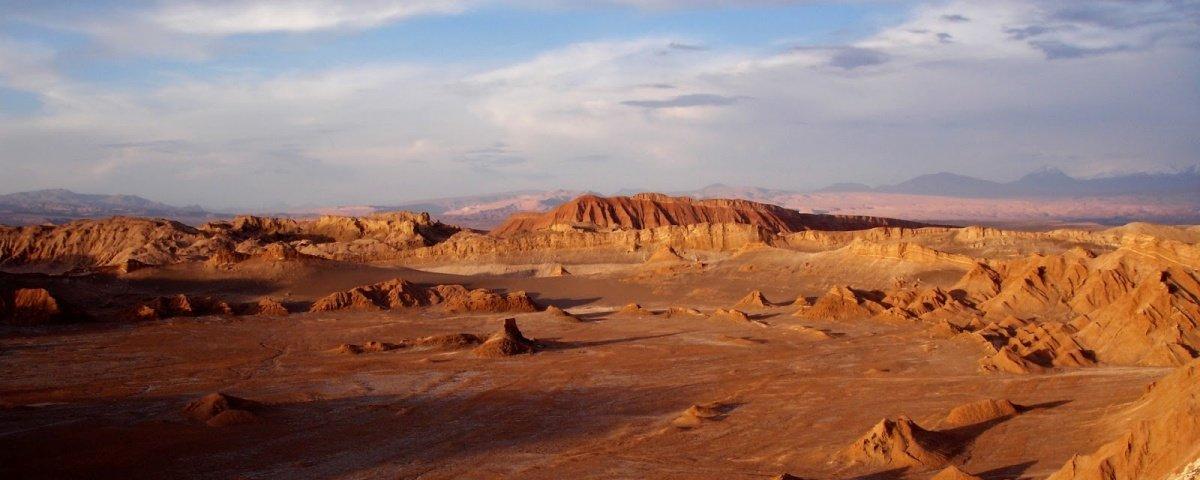 Bactérias encontradas no Atacama sinalizam esperança de vida em Marte