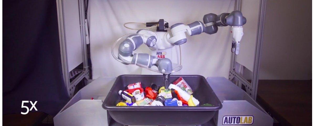 Veja o robô mais habilidoso do mundo na hora de coletar objetos em ação