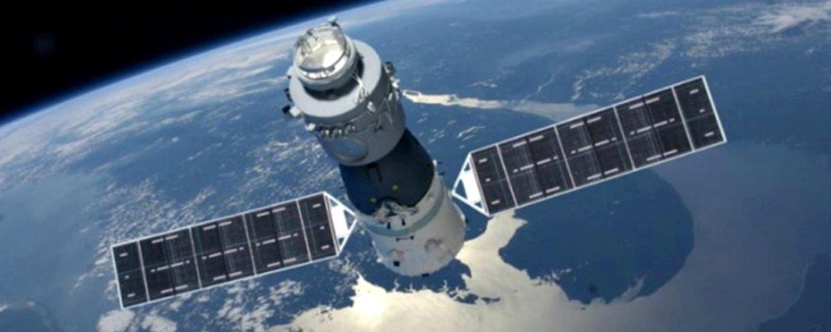 Em queda, estação espacial chinesa começa a aparecer no céu noturno