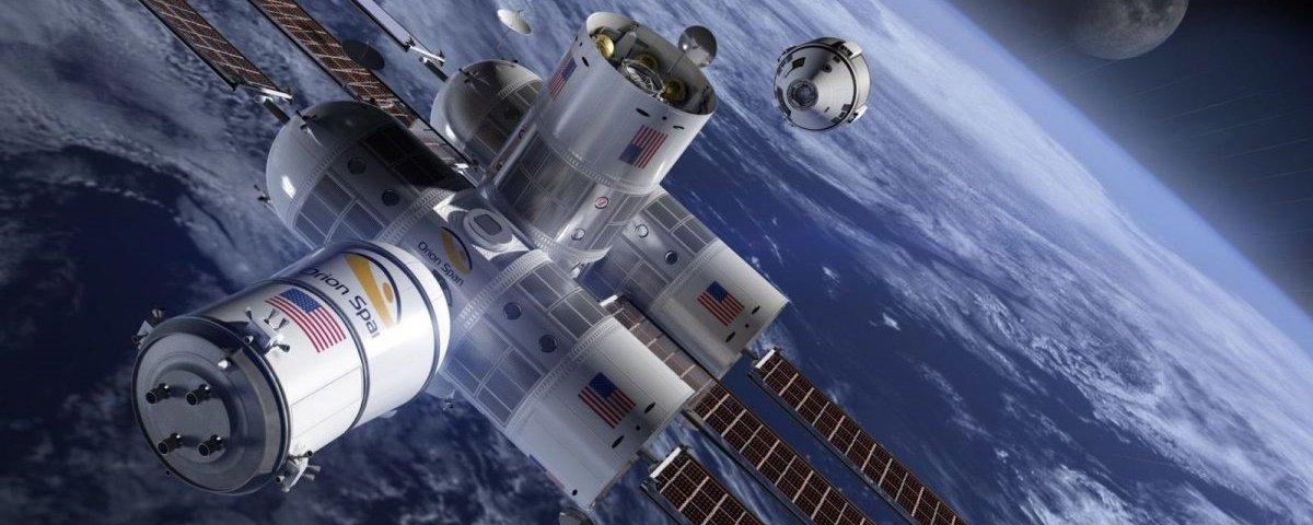 Você já pode reservar o seu lugar no primeiro hotel espacial de luxo