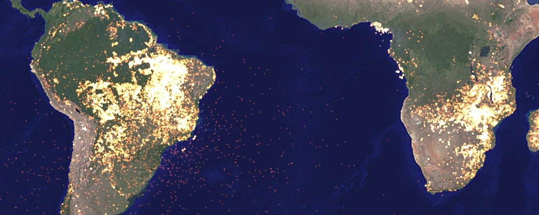 Site usa imagens da NASA para mostrar como estamos mudando o planeta