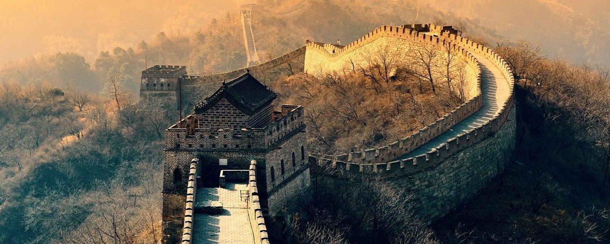 Drones da Intel colaboram com restauração da Grande Muralha da China