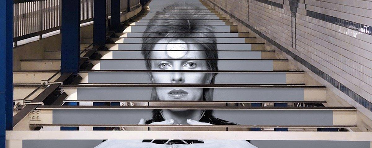 Para divulgar exposição, David Bowie ganha homenagens incríveis em NY