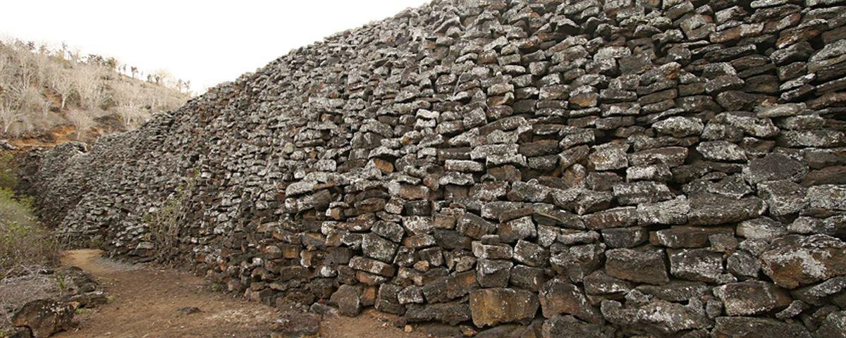 Muro das Lágrimas: a triste história dessa construção inútil em Galápagos